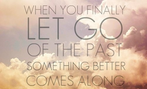 Finally Letting Go Of The Past